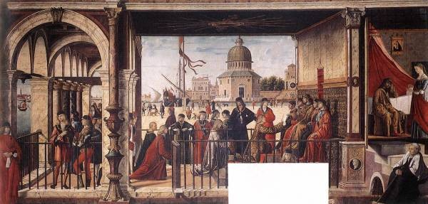 Carpaccio Arrival of the English Ambassadors